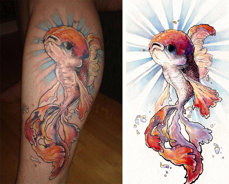 Oranda Tattoo